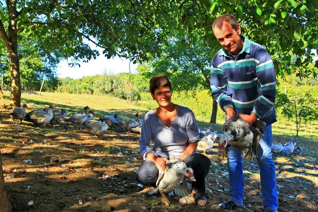 Evelyne & Christian Leymarie - La ferme des Roumevies