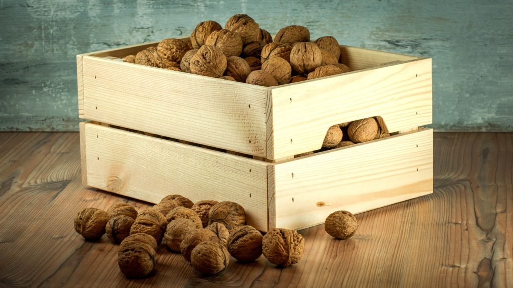 Caisse de noix